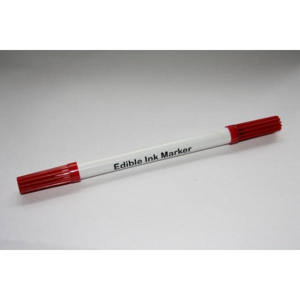 Stift  eetbare inkt Rood