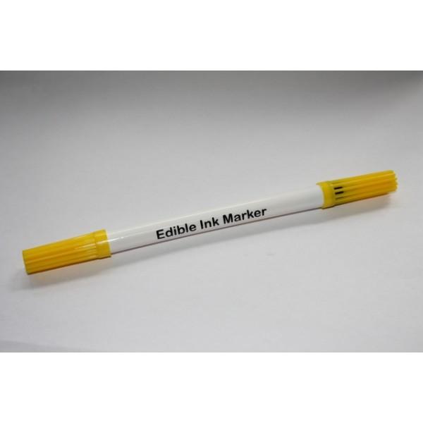 Stift  eetbare inkt Geel