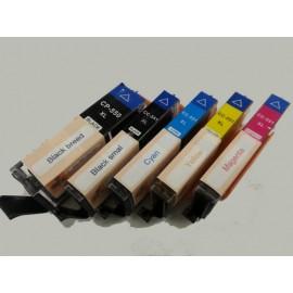 Canon edible inkt PGI 550BK  CLI 551 XL set