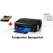 Foodprinter canon IP7250 Starterspakket