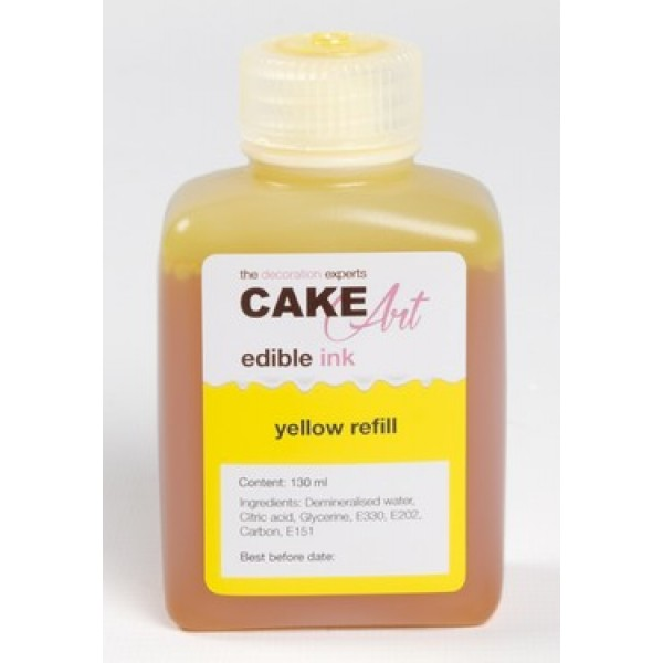 Fles 130ML Yellow