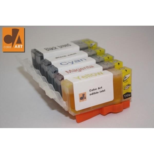Canon eetbare inkt AZO vrij CLI-521-520 voordeelset